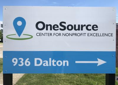 OneSource Center-Dalton street sign