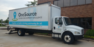 OneSource Center Pickup and Delivery Truck